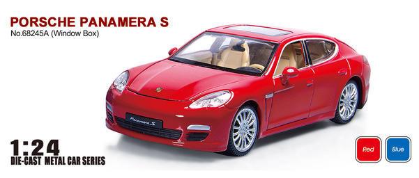 Машина металлическая Автопром 68245А Porsche Panamera S