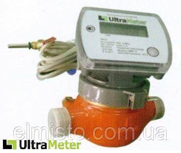 """Лічильник тепла механічний UltraMeter-M 3/4"""" DN 20 + M-Bus, компактний квартирний"""