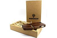 Эксклюзивный деревянный раскладной чехол Американский орех для iPhone 5/5s, фото 1