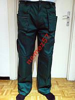 Брюки рабочие цвет зеленый.Размер 50-52.Спецодежда