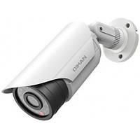 Цилиндрическая наружная IP-камера Qihan QH-NW351-P, 1,3Mpix // QH-NW351-P
