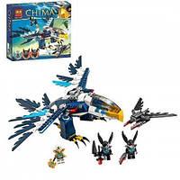 Конструктор Bela серия Chima 10057 Перехватчик Орлицы Эрис (аналог Lego Legends of Chima 70003)