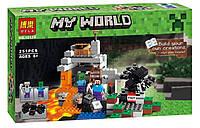 Конструктор Bela 10174 (аналог Lego Майнкрафт, Minecraft)