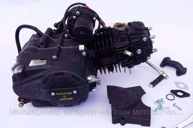 Двигатель Альфа 125 см3 54мм JAPAN TECHNOLOGY