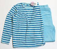 Детская велюровая пижама для девочки р.140