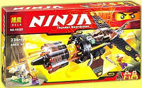 Конструктор Bela серия NINJA / Ниндзя 10322 Скорострельный истребитель Коула (аналог Lego Ninjago 70747)