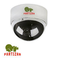 Купольная камера цветная Partizan CDM-VF32H, 600 ТВЛ // CDM-VF32H