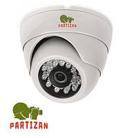 Камера AHD купольная Partizan CDM-223S-IR HD v3.2, 1 Мп // CDM-223S-IR-HD-v3.2