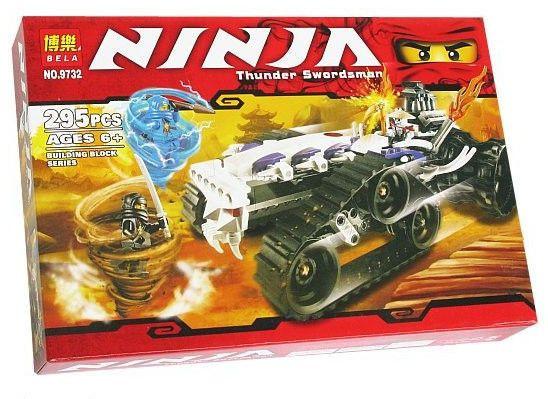 Конструктор Bela серия NINJA / Ниндзя 9732 (Турбо Шредер)
