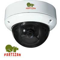 Камера наружная купольная Partizan CDM-860VP v1.0, 800 ТВЛ // CDM-860VP-1.0