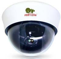 Купольная варифокальная IP-камера Partizan IPD-VF2MP POE v1.1, 2 Mpix // IPD-VF2MP-POE