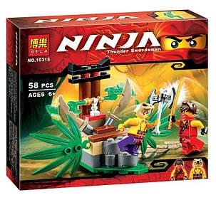 Конструктор Bela серия NINJA / Ниндзя 10315 (Ловушка в джунглях), фото 2