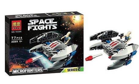 Конструктор Bela серия Space Fights / Звездные воины 10360 (Дроид-Стервятник), фото 2