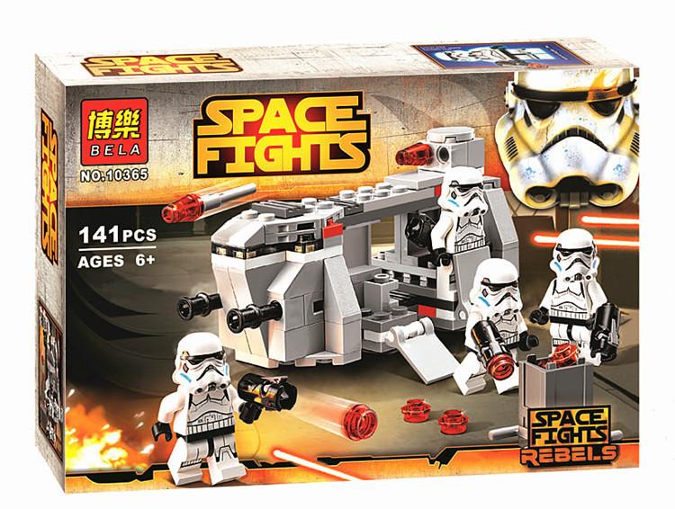 Конструктор Bela 10365 Звездные войны Имперский транспорт клонов (аналог Lego Star wars 75078)