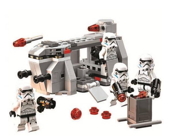 Конструктор Bela 10365 Звездные войны Имперский транспорт клонов (аналог Lego Star wars 75078), фото 5