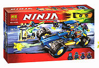 Конструктор Bela 10396 NINJA / Ниндзя. Джей Уолкер (аналог Lego Ninjago 70731)