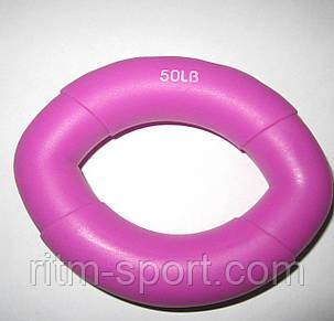 Еспандер кистьовий Smail 50 LB фіолетовий, фото 2
