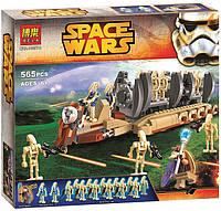 Конструктор Bela серия Space Wars 10374 Перевозчик войск дроидов для сражений (аналог Lego Star Wars 75086)