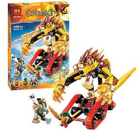 Конструктор Bela Chimo 10295 Огненный лев Лавала (аналог Lego Legends of Chima 70144)