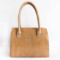 Коричневый деловой портфель женская сумочка