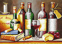 """Схема для вышивки бисером """"Вино"""", А3"""