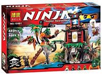 Конструктор Bela серия NINJA / Ниндзя 10461 Остров Тигриной вдовы (аналог Lego Ninjago 70604)