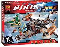 Конструктор Bela 10462 NINJA / Ниндзя. Цитадель несчастий (аналог Lego Ninjago 70605)
