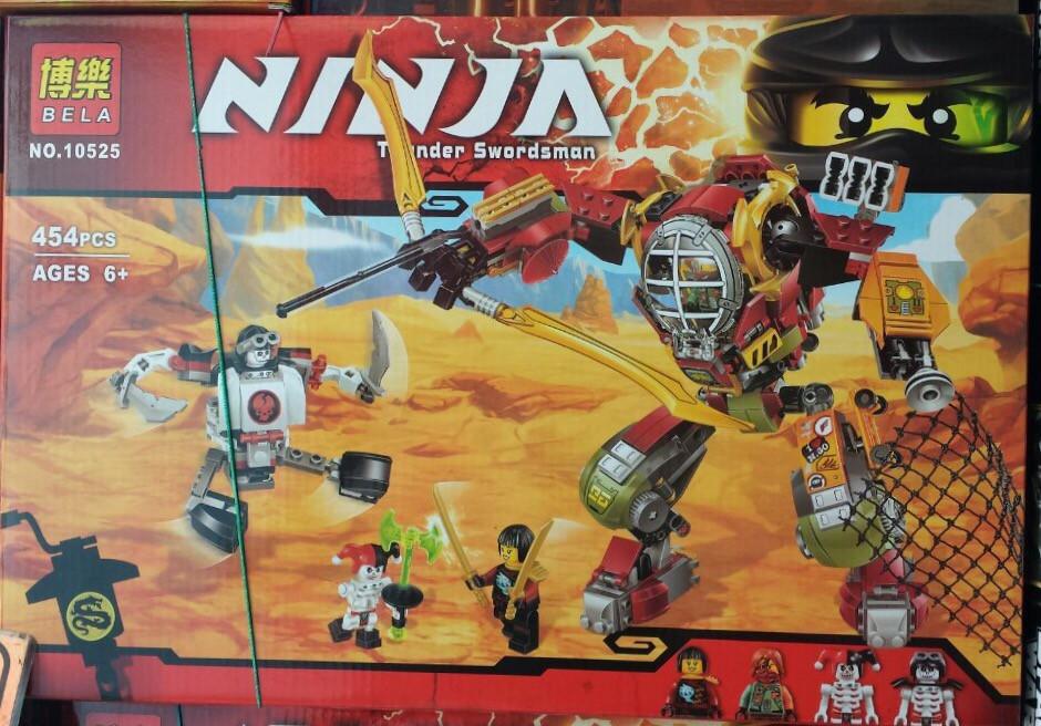 Конструктор Bela серия NINJA / Ниндзя 10525 Робот Ронина (аналог Lego Ninjago 70592)