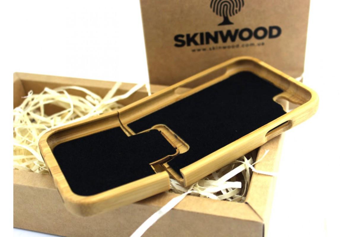 Эксклюзивный деревянный раскладной чехол Сандал для iPhone 7