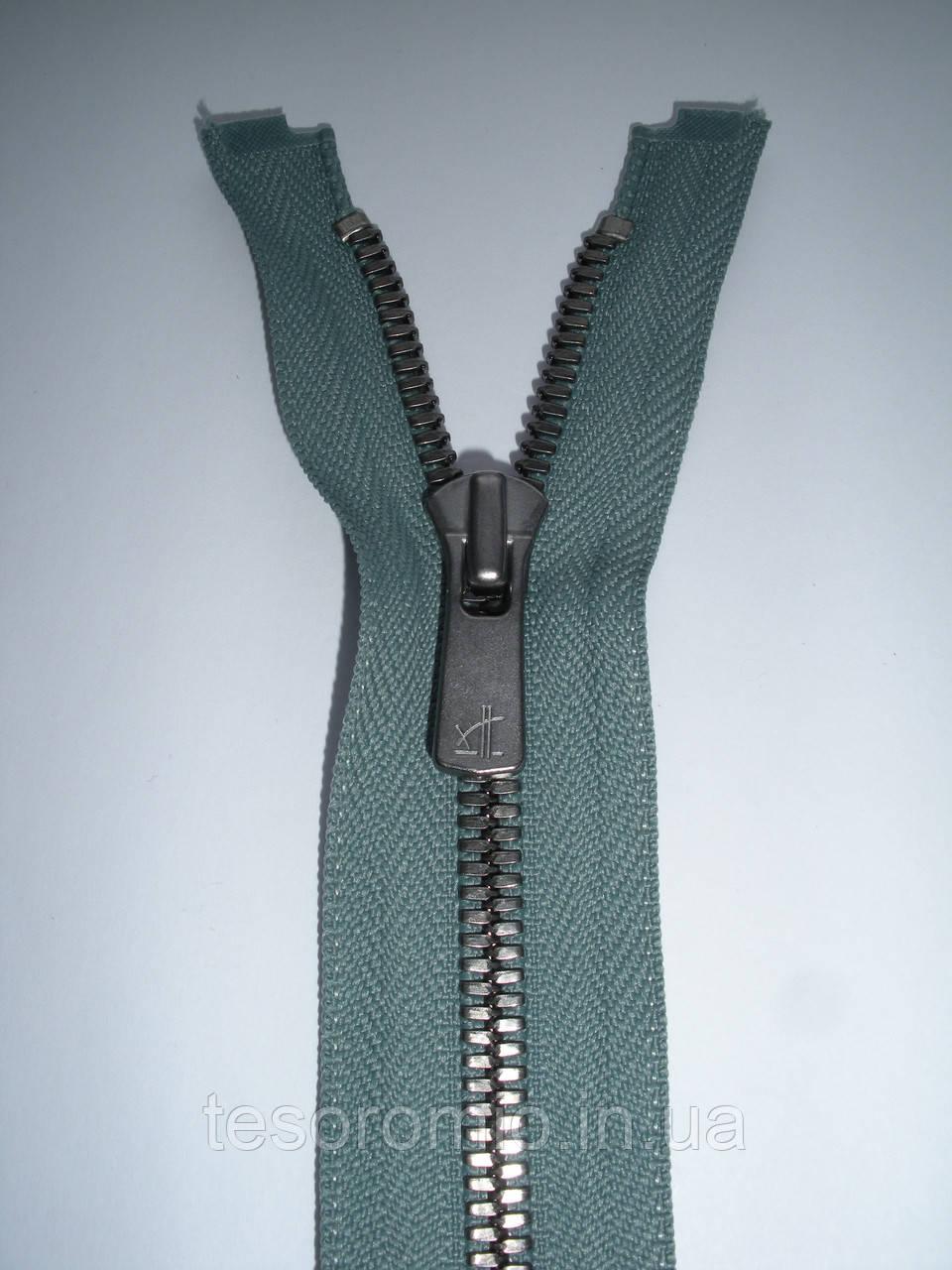 Молния металлическая разъемная  70см, тип 5 YKK EXCELLA® , 2 бегунка