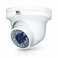 Купольная антивандальная IP камера Partizan IPD-2SP-IR POE v2.0, 2 Мп // IPD-2SP-IR-POE-2.0