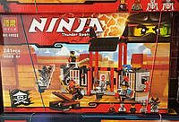 """Конструктор Bela серия NINJA / Ниндзя 10522 Побег из тюрьмы """"Криптариум"""" (аналог Lego Ninjago 70591)"""