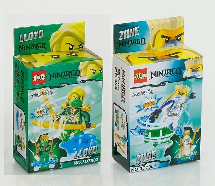 Конструктор JLB серия Ninja / Ниндзя 3D7901-3D7906 (6 видов)
