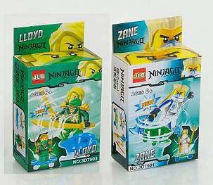 Конструктор JLB серия Ninja / Ниндзя 3D7901-3D7906 (6 видов), фото 2