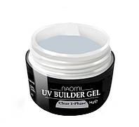 Однофазный строительный гель Naomi UV Builder Gel Clear 1-Phase, 14 г.