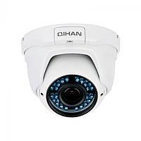 Наружная купольная IP-камера Qihan QH-VNV534DO-P, 4 Mpix // QH-VNV534DO-P