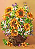 """Схема для вышивки бисером """"Полевые цветы"""", А3"""