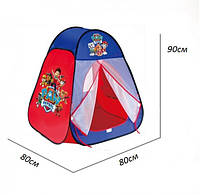 Детская игровая палатка 817S Щенячий патруль