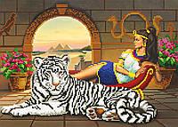 """Схема для вышивки бисером """"Египетская царица"""", А3"""