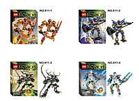 Конструктор KSZ серия Bionicle 611-1-2-4 (аналог Lego Bionicle) 3 вида