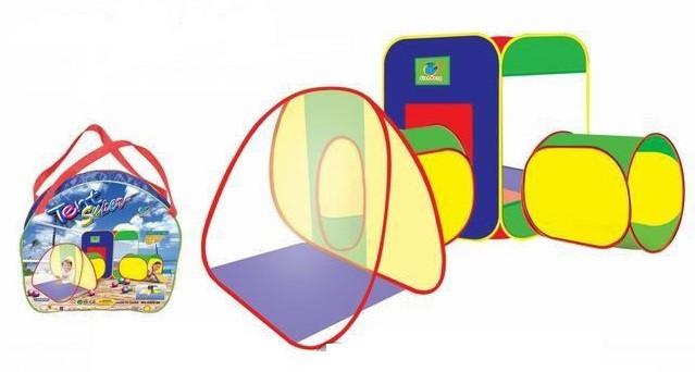 Детская игровая палатка A999-28 (2 туннеля)