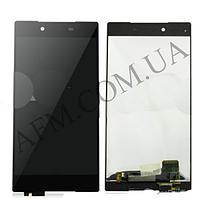 Дисплей (LCD) Sony E6833 Xperia Z5+ Premium Dua Sim/  E6853/  E6883 с сенсором черный