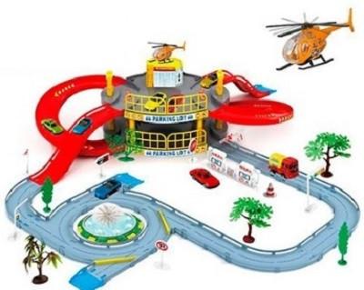 Игровой набор Гараж Мега парковка 922-9