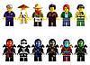 Конструктор Lepin серия NINJA / Ниндзя 06022 Храм Аэроджитсу (аналог Lego Ninjago 70751), фото 3