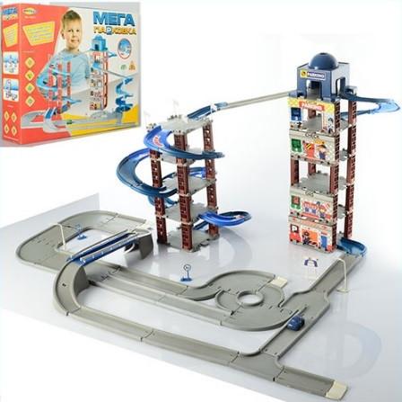 Игровой набор Umi Toys Гараж Мега парковка 922-5
