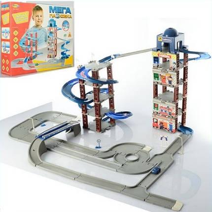 Игровой набор Umi Toys Гараж Мега парковка 922-5, фото 2