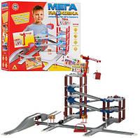 Игровой набор Гараж Мега парковка 922-6 Строительство авто-паркинга