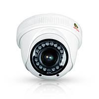 AHD купольная варифокальная камера Partizan CDM-VF33H-IR HD v4.1, 1 Mpix // CDM-VF33H-IR HD v4.1