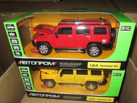 Машина металлическая Автопром 68240 А. Hummer H3, фото 2