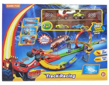 Игровой набор Трек Вспыш 828-54 с трамплином, фото 2